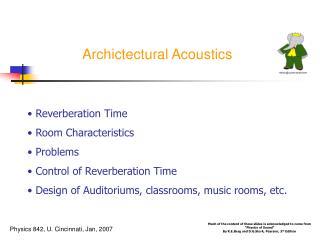 Archictectural Acoustics