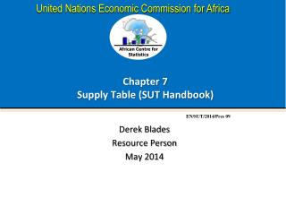 Chapter 7 Supply Table (SUT Handbook)