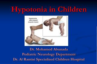 Hypotonia in Children