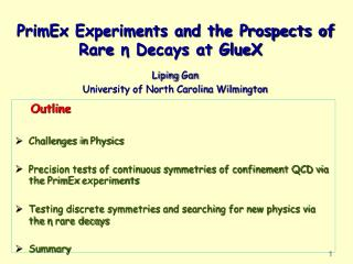 PrimEx  Experiments and the Prospects of Rare  η Decays at GlueX