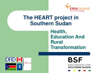 The HEART project in Southern Sudan
