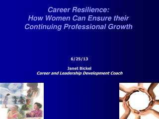 Career Resilience:  How Women Can Ensure their  Continuing Professional Growth