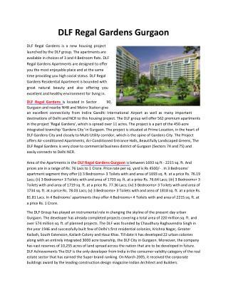 DLF Regal Gardens