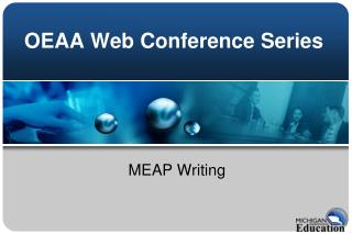 OEAA Web Conference Series