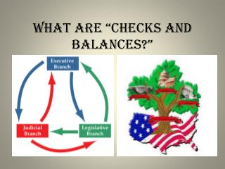 "What are ""checks and balances?"""