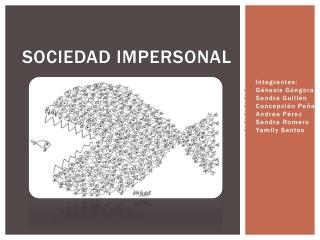 Sociedad impersonal