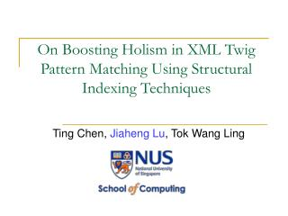 On Boosting Holism in XML Twig Pattern Matching Using Structural Indexing Techniques