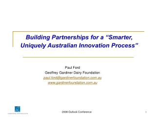 Strategy-Aligned Innovation
