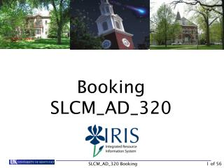 Booking SLCM_AD_320