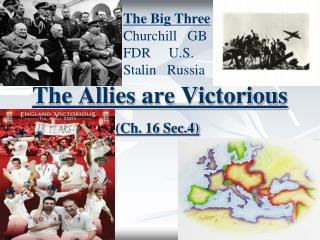 The Allies are Victorious