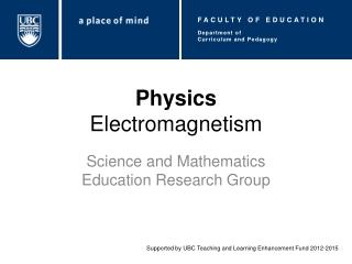 Physics Electromagnetism