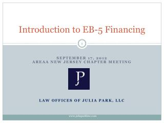 Introduction to EB-5 Financing