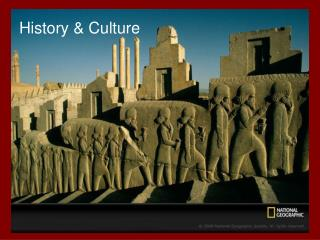 History & Culture