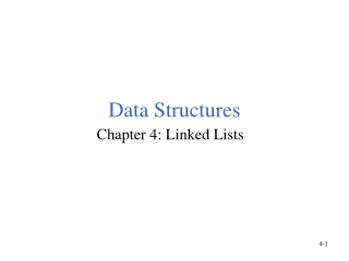 Chap4: Linked Lists