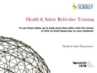 Health & Safety Refresher Training