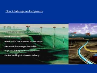 New Challenges in Deepwater