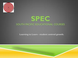 SPEC South Pacific Educational Courses