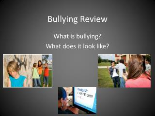 Bullying Review