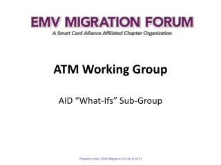 ATM Working Group
