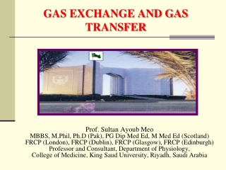 GAS EXCHANGE AND GAS TRANSFER
