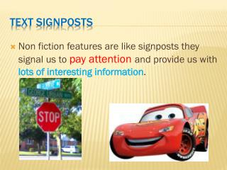 Text Signposts