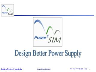 Design Better Power Supply
