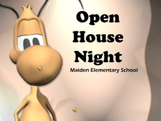Open House Night