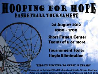 Hooping for Hope