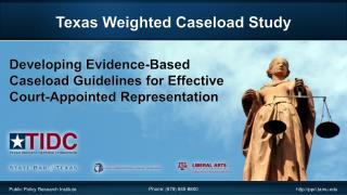 Texas Weighted Caseload  Study