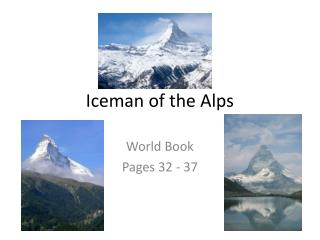 Iceman of the Alps