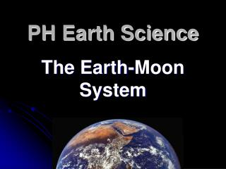 PH Earth Science