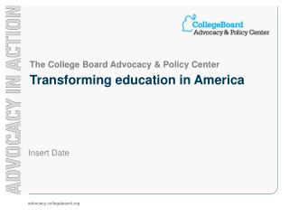 Transforming education in America