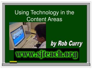 Using Technology in the Content Areas