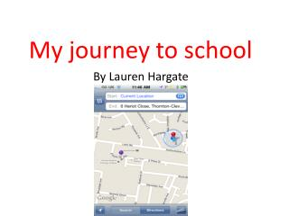 My journey to school