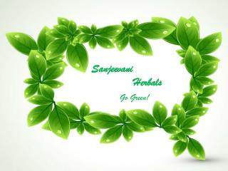 Sanjeevani             Herbals Go Green!