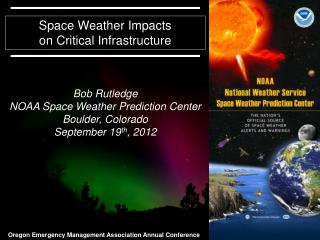 Space Weather Impacts on Critical Infrastructure