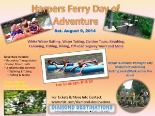 Harpers Ferry Day of Adventure