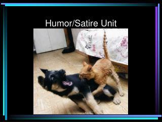 Humor/Satire Unit