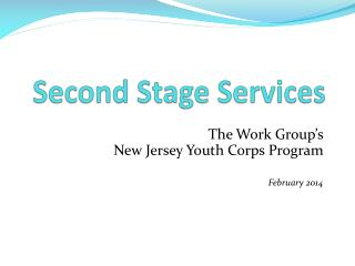Second Stage Services