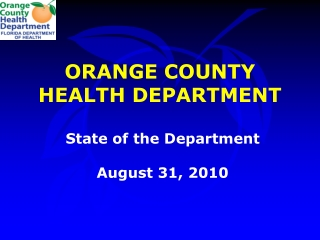 HEALTH SERVICES UPDATE 2010 - 2011