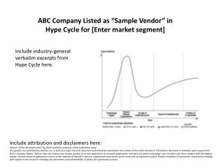 "ABC Company Listed as ""Sample Vendor"" in Hype Cycle for [Enter market segment]"