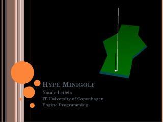 Hype  Minigolf