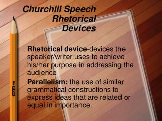 Churchill Speech Rhetorical Devices