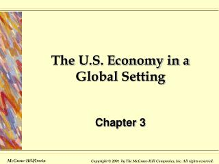 describe the global economy of the