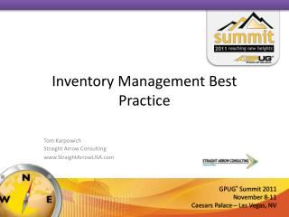 Inventory Management Best Practice