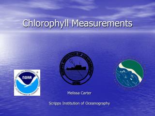 Chlorophyll Measurements