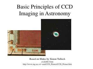 Basic Principles of CCD Imaging in Astronomy