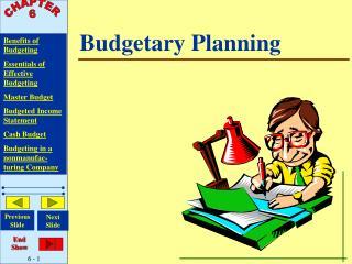 Budgetary Planning