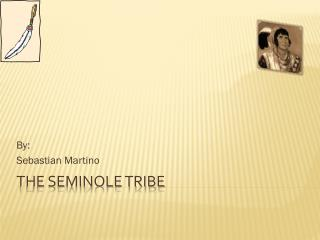 The Seminole tribe