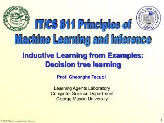 IT/CS 811 Principles of Machine Learning and Inference